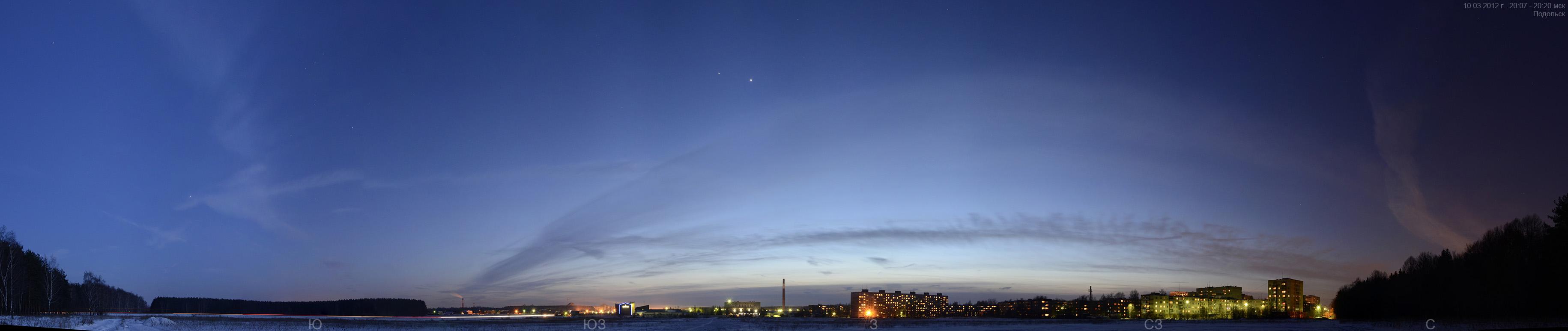 Панорама ночь