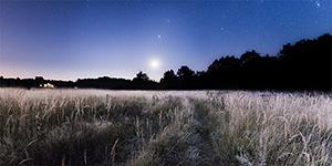 Восход Луны в 05:38, 21 сентября 2014 г.