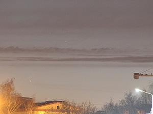 Меркурий и Плеяды 30 апреля 2015 г., г. Королёв, Московская область