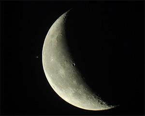 Покрытие Альдебарана Луной ночью 9 августа 2015 г., Королёв (Московская обл.)