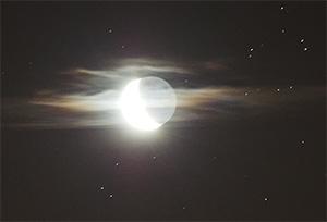 Покрытие Альдебарана Луной ночью 9 августа 2015 г., Подольск (Московская обл.)