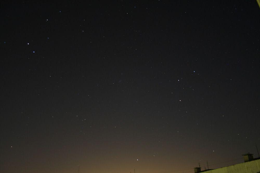 любительские фотографии звездного неба