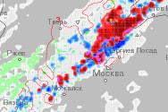 Карты модели WRF (Гидрометцентр РБ)