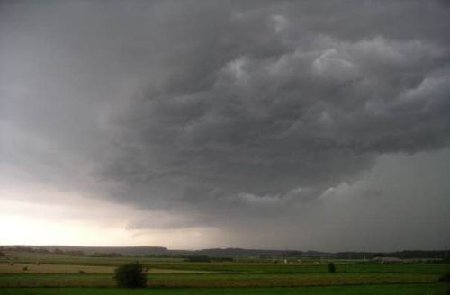 кучево дождевые облака фото